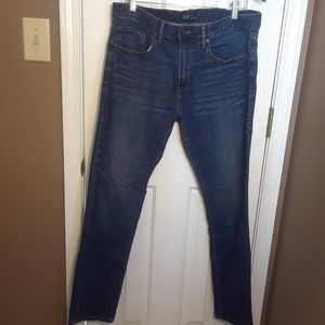 NWOT 34X32 GAP SLIM MENS JEANS